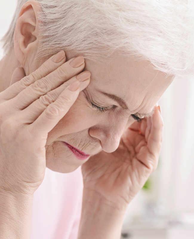 Chi Well Pointer bei Kopfschmerzen