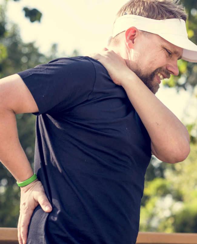 Chi Well Pointer bei Rückenschmerzen