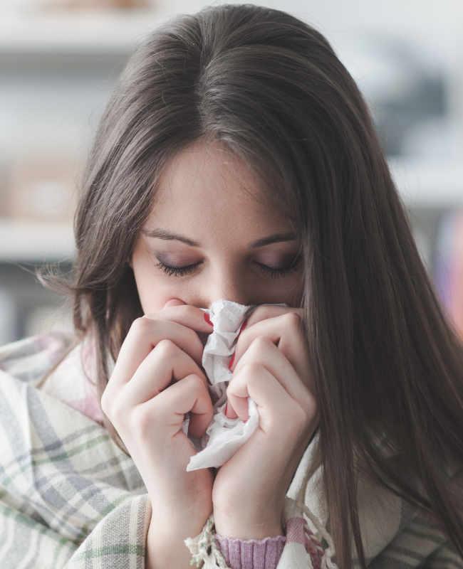 Chi Well Pointer bei Erkältung